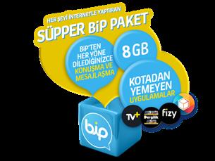 Satın Al Süpper Bip 8GB Yıllık Abonelik Kampanyası