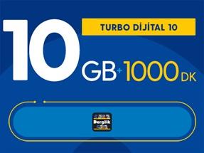 Turbo Dijital 10 Kampanyası