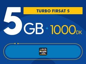 Turbo Fırsat 5GB Yıllık Abonelik Kampanyası