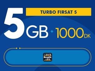 Satın Al Turbo Fırsat 5GB Yıllık Abonelik Kampanyası