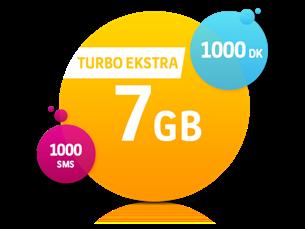 Satın Al Turbo Ekstra 7 GB Yıllık Abonelik Kampanyası