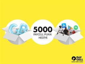 Turkcell.com.tr'de Haftalık 2 GB değerinde 5.000 Puan Hediye!