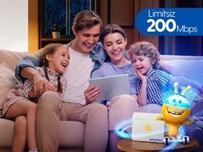 Turkcell Fiber 200 Mbps Hız Şenliği Kampanyası
