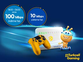Turkcell Fiber Oyunda Uçuran Kampanya