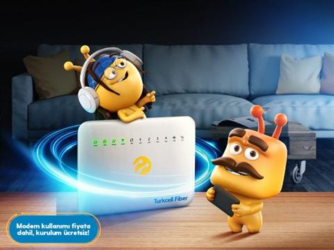 Turkcell Fiber Süper Paketler Kampanyası