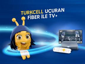 Turkcell Uçuran Fiber ile TV+ Kampanyası