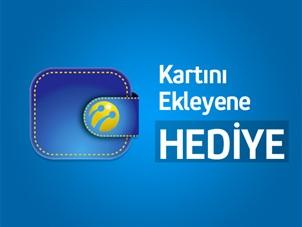 Turkcell Cüzdan'a kartını ekleyene 50 TL hediye!