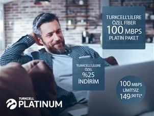 Turkcell'lilere Özel 100Mbps Platin Paket