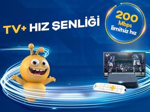 TV+ ve Turkcell Fiber 200 Mbps Hız Şenliği Kampanyası