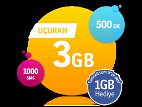 Uçuran 3 GB Paketi-Yeni Müşteri