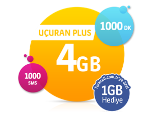 Uçuran 4 GB Plus
