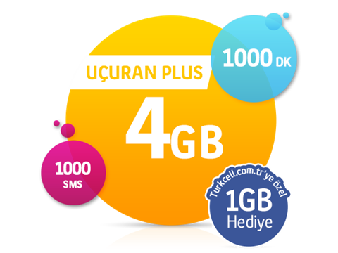 Uçuran 4 GB Plus