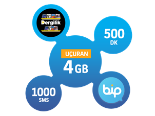 Uçuran 4 GB Paketi