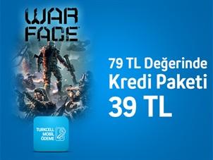 Warface'de 79 TL Değerinde Kredi Paketi Turkcell Mobil Ödeme'ye özel 39 TL!