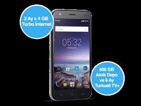 Turkcell T Serisi Bireysel Akıllı Telefon Kampanyası