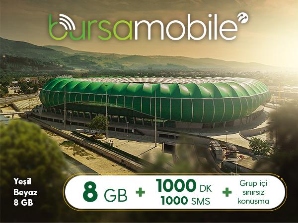 Yeşil Beyaz 8 GB