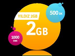 Yıldız 2 GB Paketi