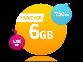 Yıldız 6 GB Paketi