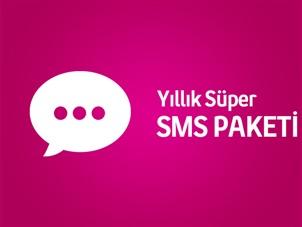 Yıllık Süper SMS Paketi