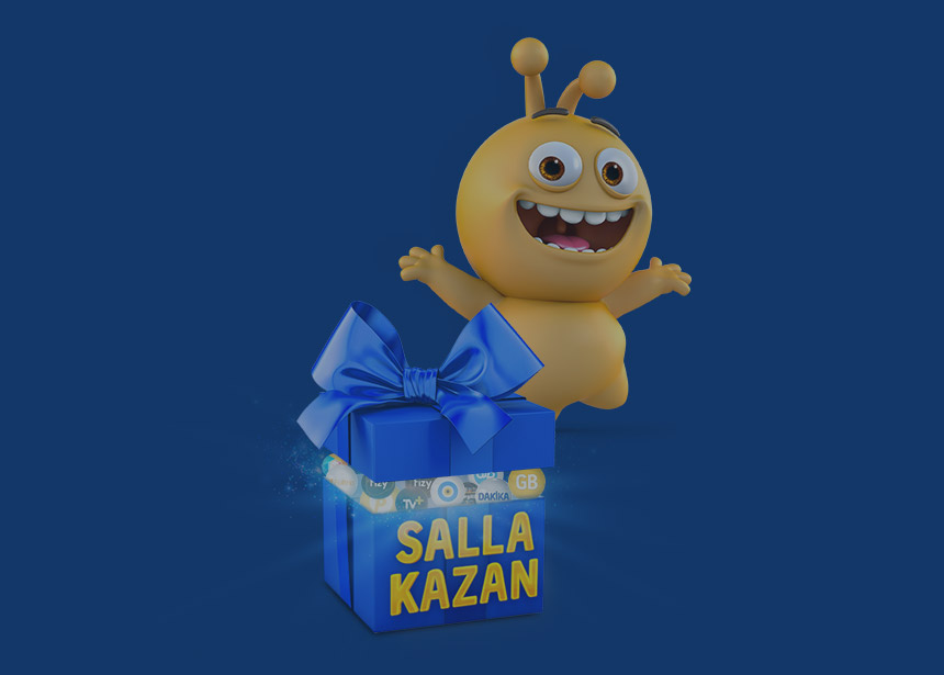 Sürpriz Hediyeler Salla Kazan'da