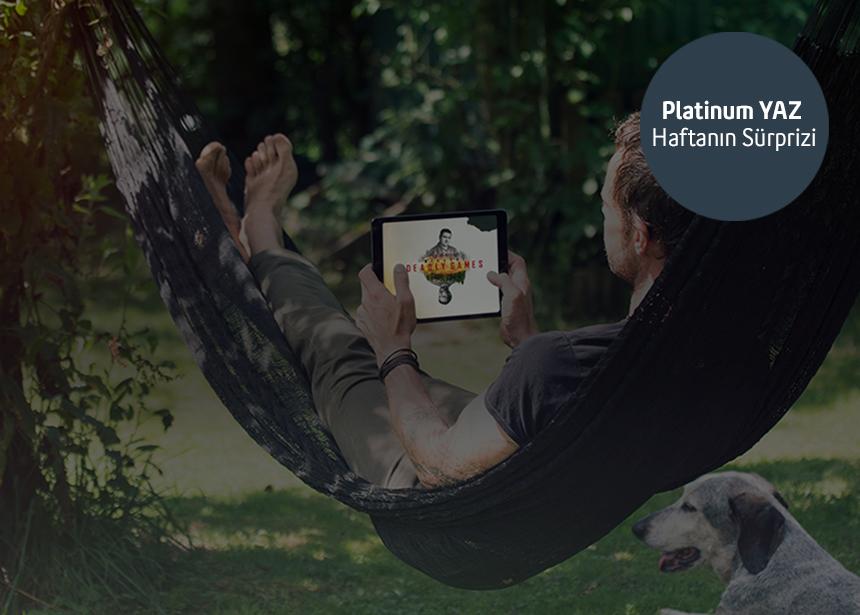 G5 Haziran- 11 Temmuz haftası TV+ da geçerli 3 ay hediye premium üyelik ayrıcalığından yararlanan ilk 5000 müşterimizden biri olmak için Platinum şifrenizi alabilirsiniz. Keyifli seyirler dileriz.