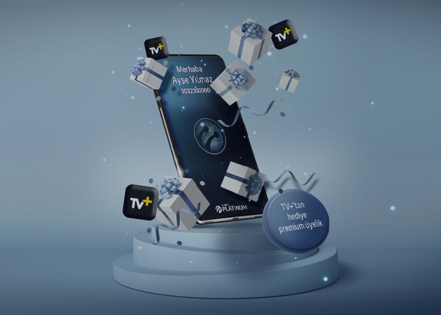 TV+ da geçerli 1 ay hediye Premium üyelik ayrıcalığından yararlanan ilk 2000 müşterimizden biri olmak için Platinum şifrenizi alabilirsiniz. Keyifli seyirler dileriz.