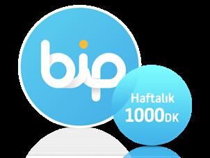 BiP'ten Haftalık Her Yöne 1000 dk