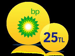 BP'de 25 TL Anında İndirim