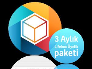 3 Aylık lifebox üyeliği