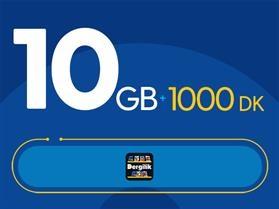 Rahat Süper 10GB Paketi - Tekrarsız