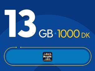 Satın Al Rahat Süper 13GB Paketi - Tekrarsız