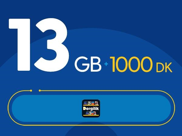 Rahat Süper 13GB Paketi
