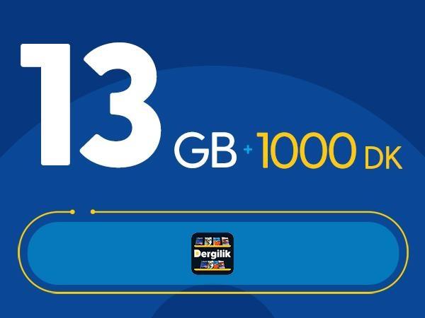 Rahat Süper 13GB Paketi - Tekrarsız