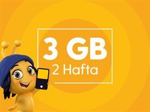 Satın Al 3 GB İnternet Paketi