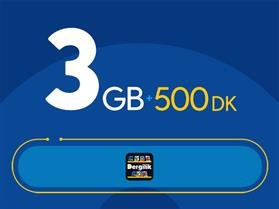 Rahat Süper 3GB Paketi - Tekrarsız