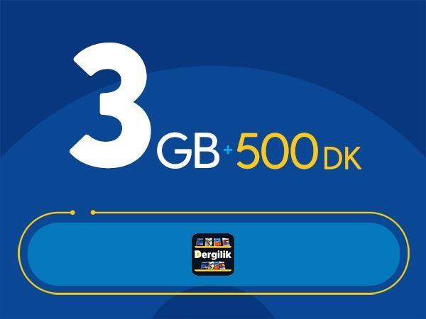 Rahat Süper 3GB Paketi