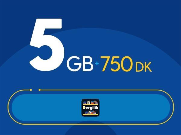 Rahat Süper 5GB Paketi - Tekrarsız