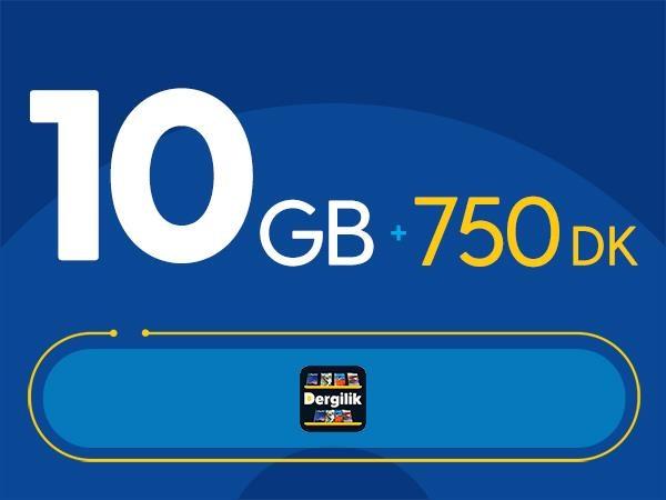 Rahat Kal 10GB Paketi - Tekrarsız