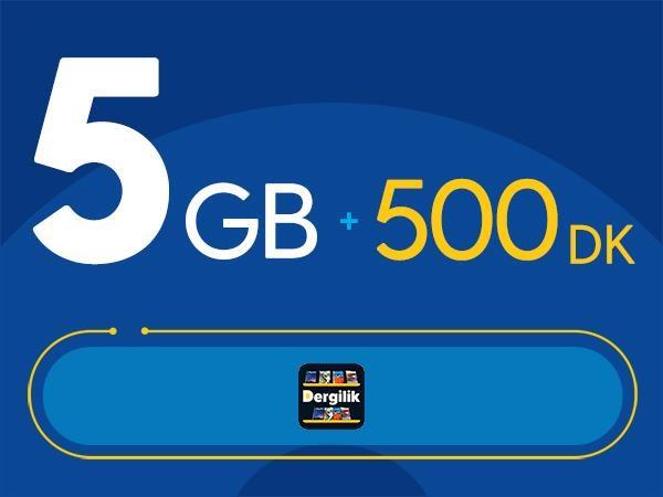 Rahat Kal 5GB Paketi - Tekrarsız