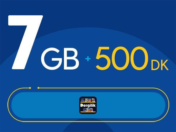 Rahat Kal 7GB Paketi - Tekrarsız