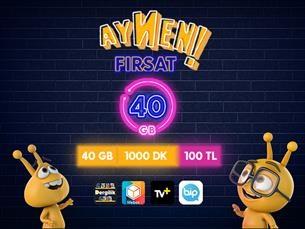 Satın Al Aynen Fırsat 40 GB Paketi