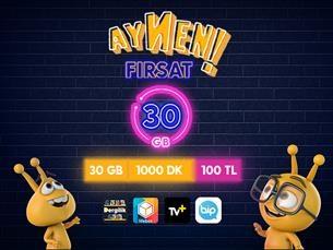 Satın Al Aynen Fırsat 30 GB Paketi