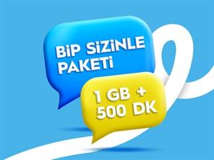 Satın Al BiP Sizinle - BiP ile Kesintisiz İletişim Paketi