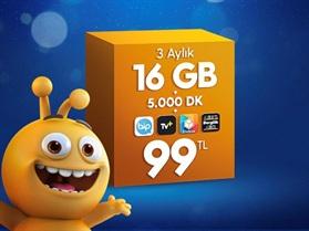 Dev 16 GB Paketi