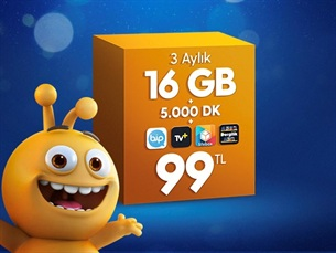 Satın Al Dev 16 GB Paketi