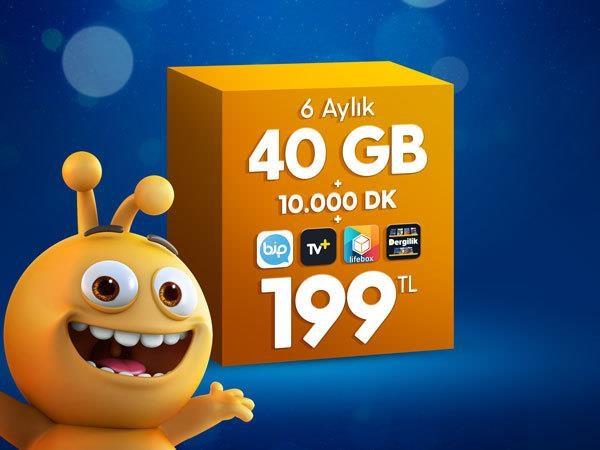 Dev 40 GB Paketi