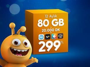 Satın Al Dev 80 GB Paketi
