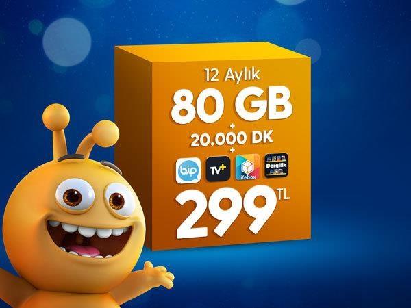 Dev 80 GB Paketi