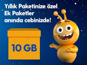 Satın Al Dev Ek 10GB