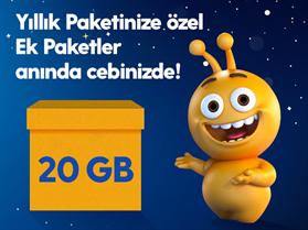Dev Ek 20GB